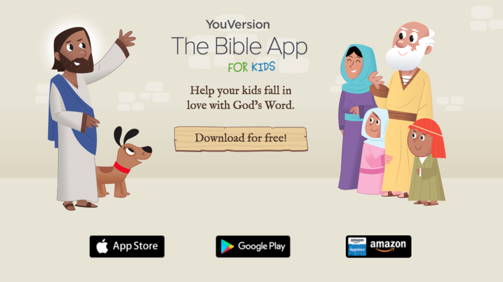 Help your kids fall in love with God's Word. Download for free!